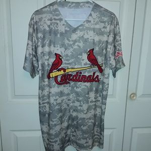 Other - St Louis Cardinals Baseball Jersey Camo